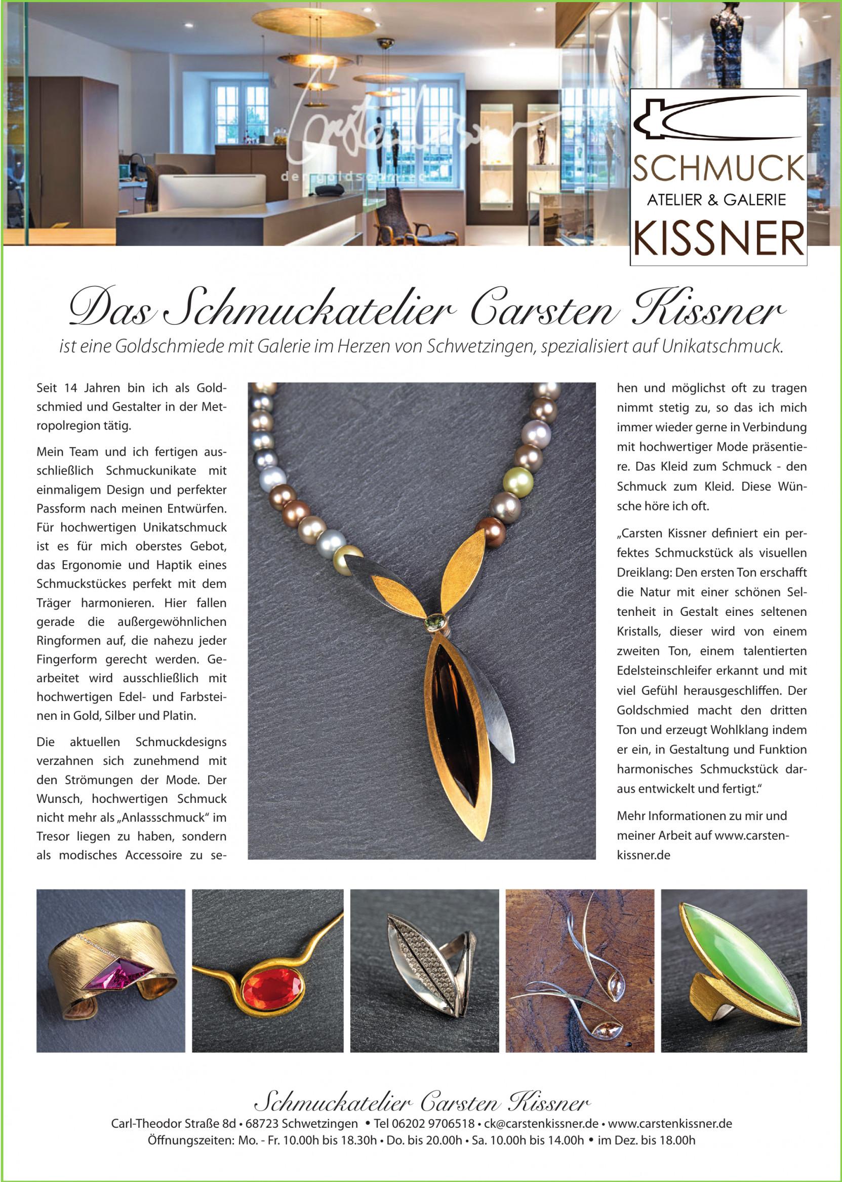 Schmuckatelier Carsten Kissner