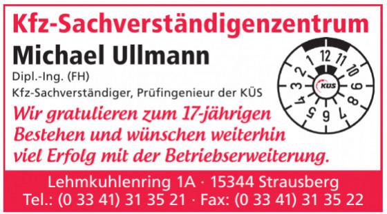 Kfz-Sachverständigenzentrum Michael Ullmann