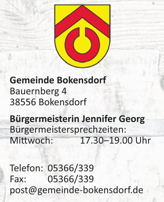 Gemeinde Bokensdorf