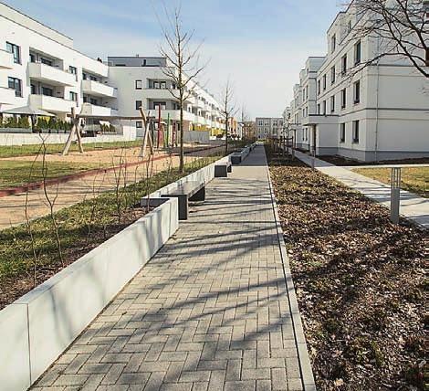 """Das neue Wohnquartier """"Wohnen am Campus"""" ist mit einem innovativen Niedertemperaturnetz ausgestattet worden"""