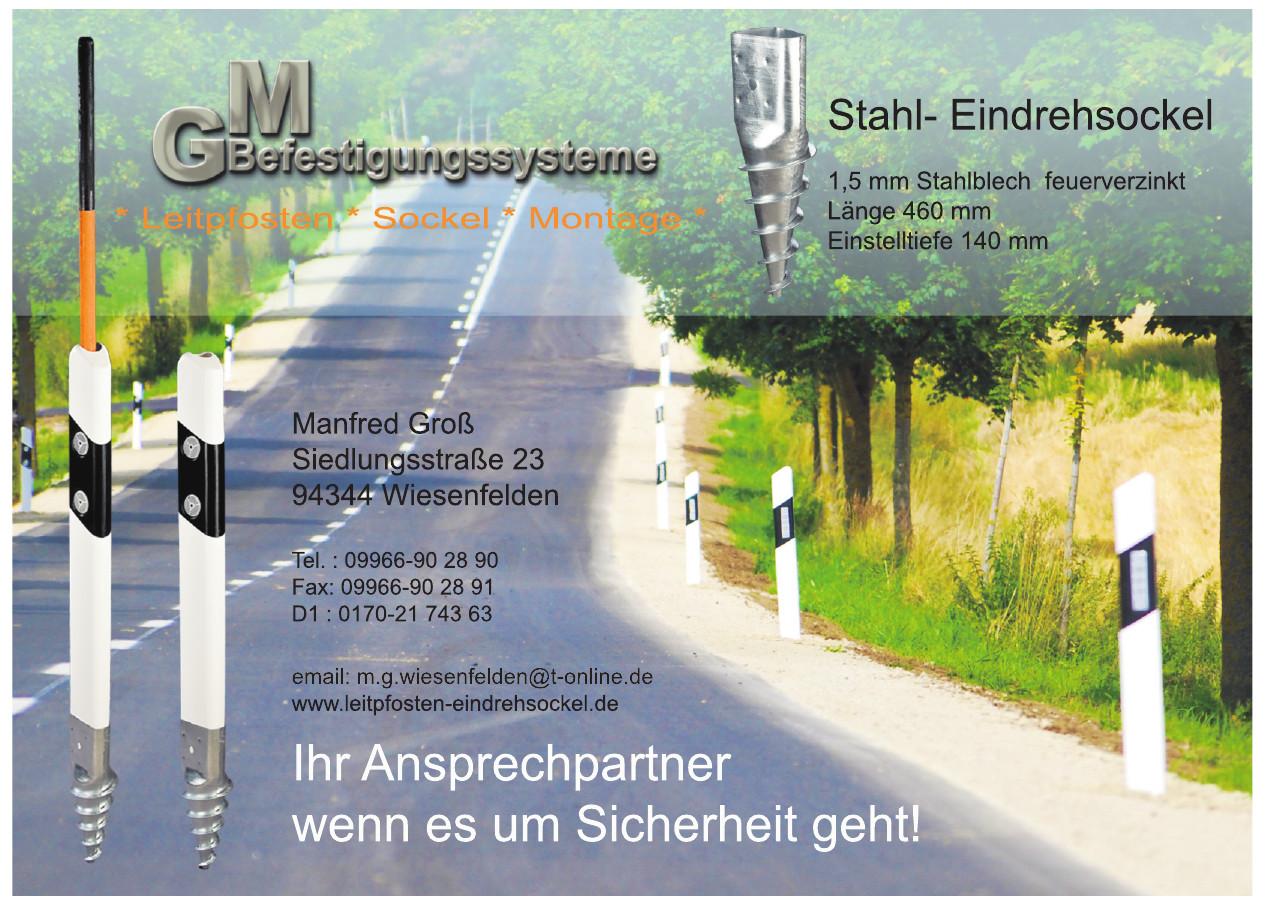 Manfred Groß - GM Befestigungssysteme