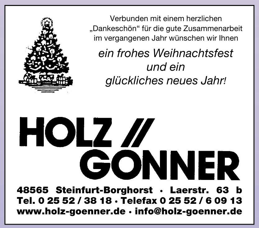 Holz Gonner