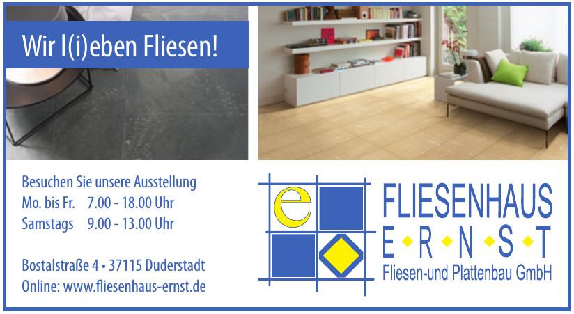 Fliesenhaus Ernst Fliesen- und Plattenbau GmbH