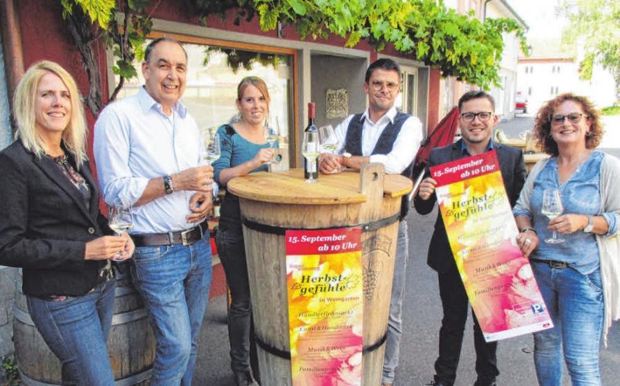 Einstimmung auf den Supersamstag von links: Manuela Wirth, Christoph Geiger, Ruth Schieferdecker, Marcus Schmid, Ciprian Meyer und Heike Betz.