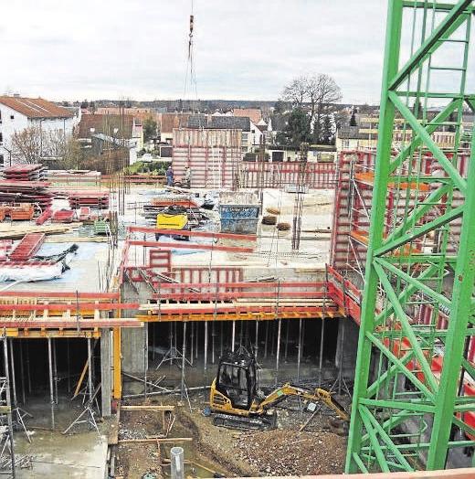 Es wird viel gebaut im Landkreis. Ob sich das Bauprogramm wie geplant verwirklichen lässt, hängt entscheidend von den Kapazitäten des Bauhandwerks ab.Foto: Archiv