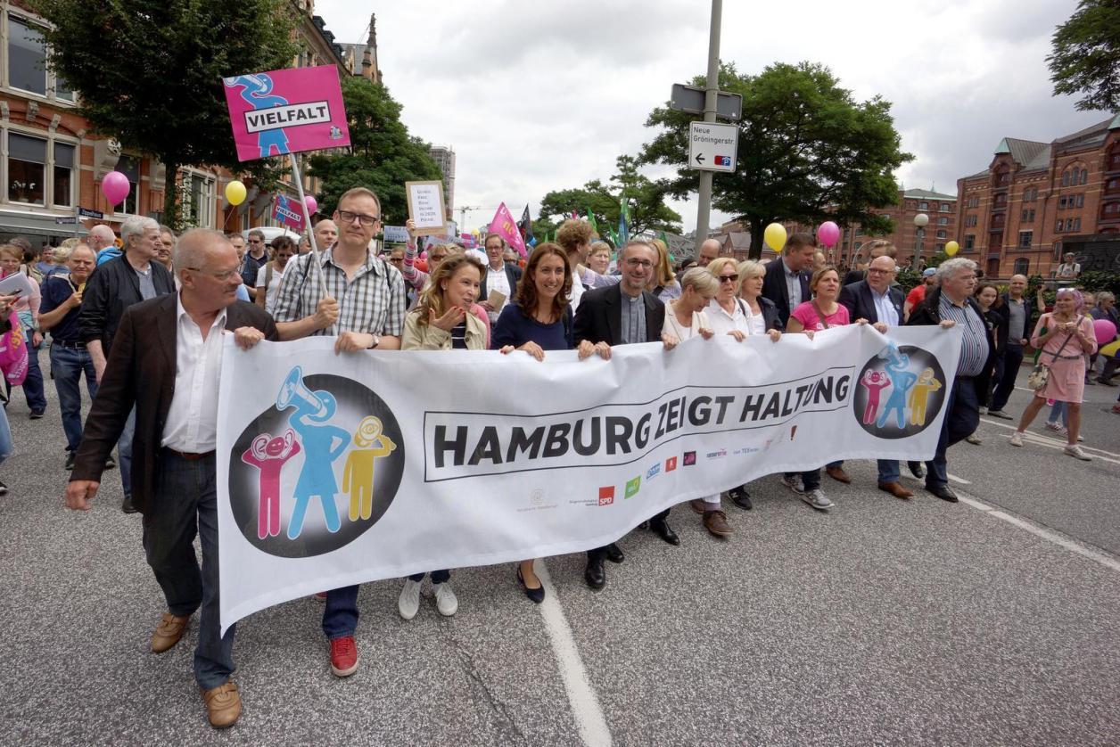 Haltung gezeigt gegen G20-Gewalt Image 2