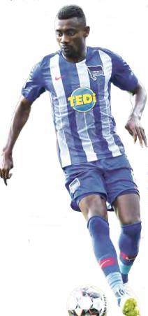 Seit vier Jahren stürmt Salomon Kalou im Hertha-Trikot, erzielte in der Zeit 39 Tore in 116 Bundesliga-Spielen.