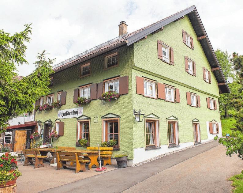 Abschiedsfest Berggasthaus Haldenhof Leutkirch Schwabische Zeitung