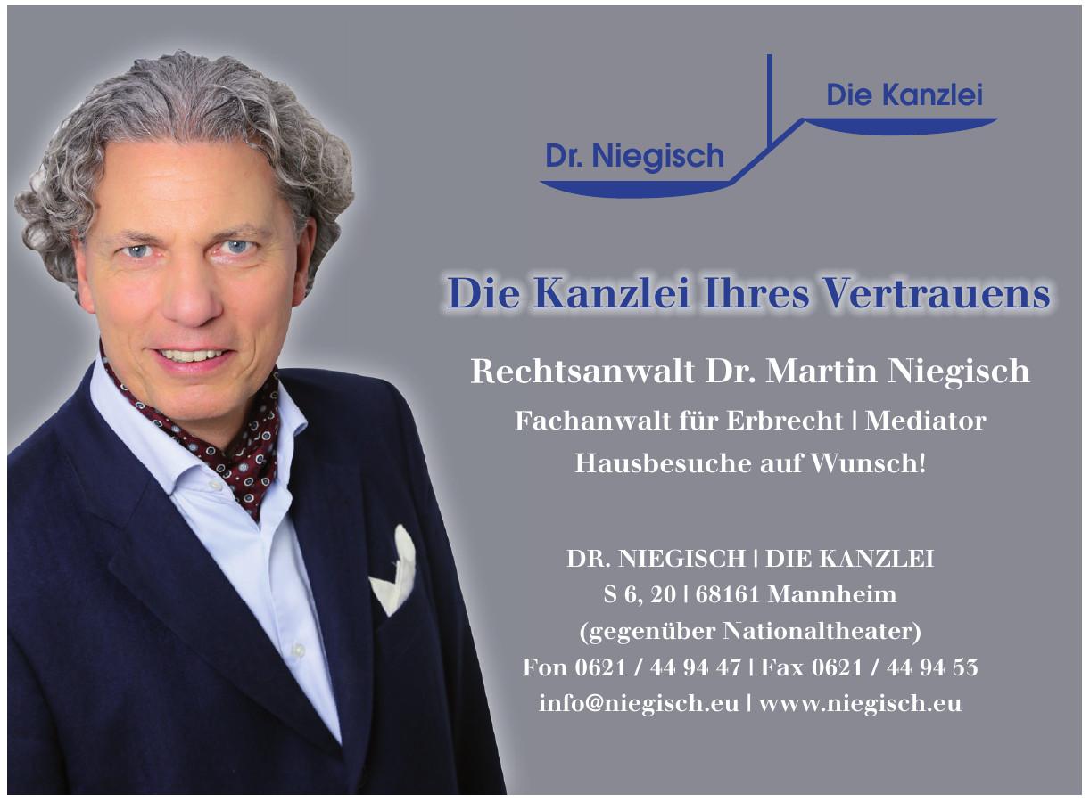 Die Kanzlei Ihres Vertrauens - Dr. Niegisch