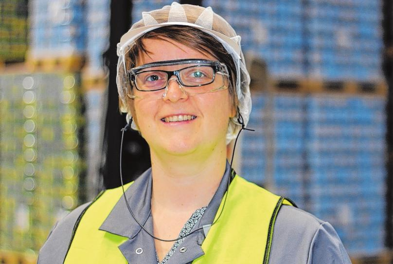 Ilona Vahlendieck hat bereits ihre Ausbildung bei der FirmaWeidenhammer absolviert. Laut der Betriebsratsvorsitzenden sind die guten Arbeitsbedingungen unter der neuen Führung erhalten geblieben.