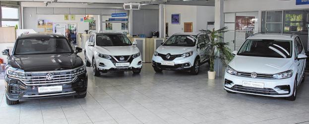 Neu- und Gebrauchtwagen aller Marken, Finanzierungs-, Zulassungs- und Versicherungsservice Foto: Jana Posna