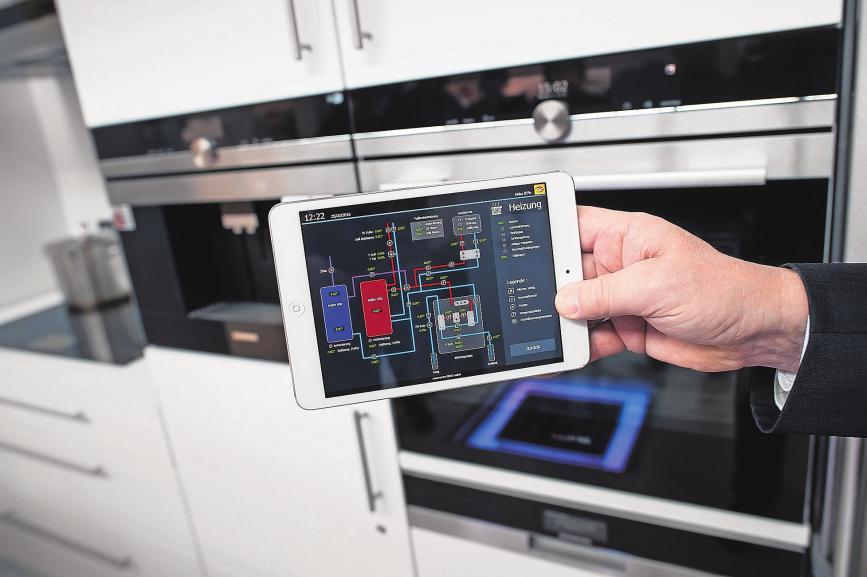 Digital gesteuert. In fast drei Millionen der deutschen Haushalte sind derzeit Smart-Home-Technologien im Einsatz. Foto: Sven Hoppe/dpa