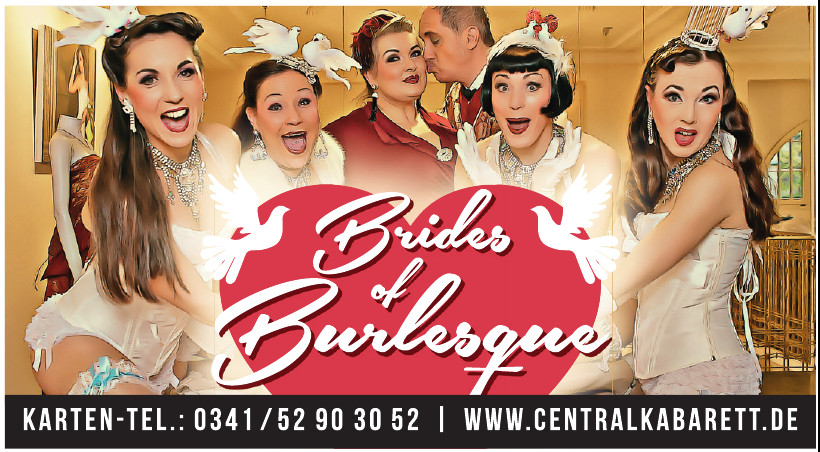 Brides of Burlesque - Central Cabaret