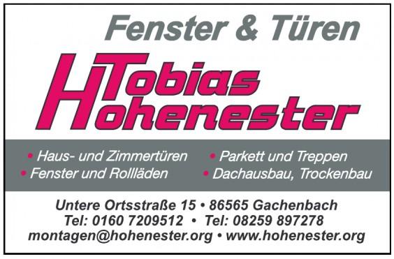 Fenster & Türen Tobias Hohenester