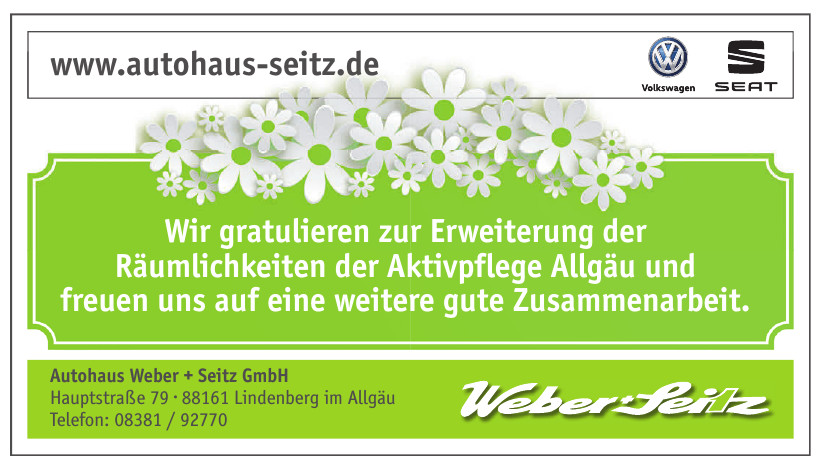 Autohaus Weber + Seitz GmbH
