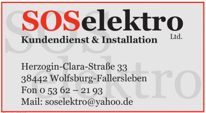 Sos Elektro Ltd.