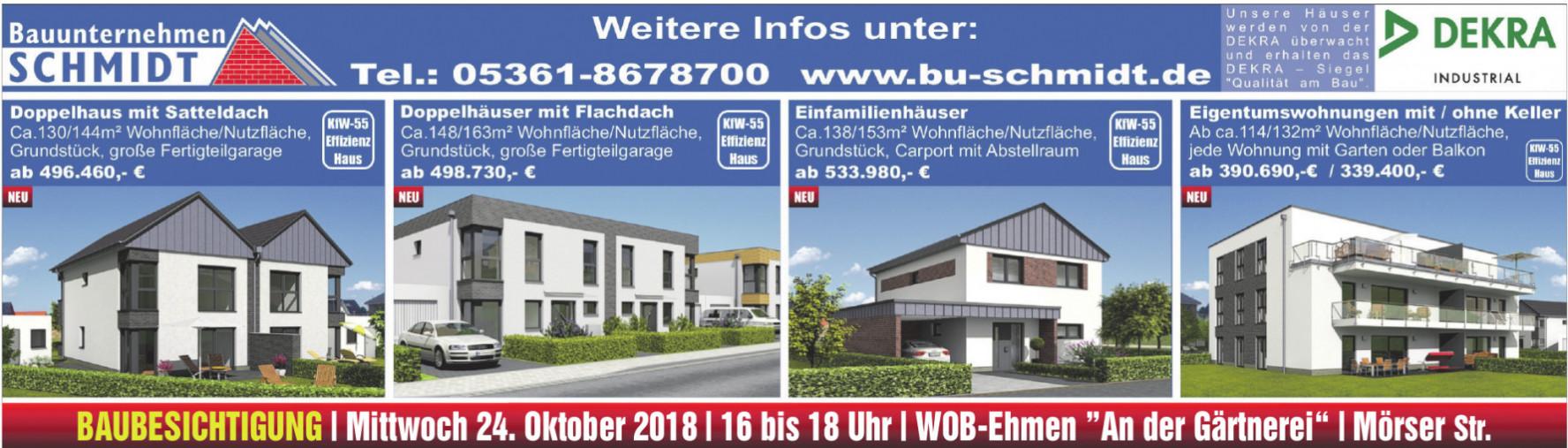 Bauunternehmen Schmidt
