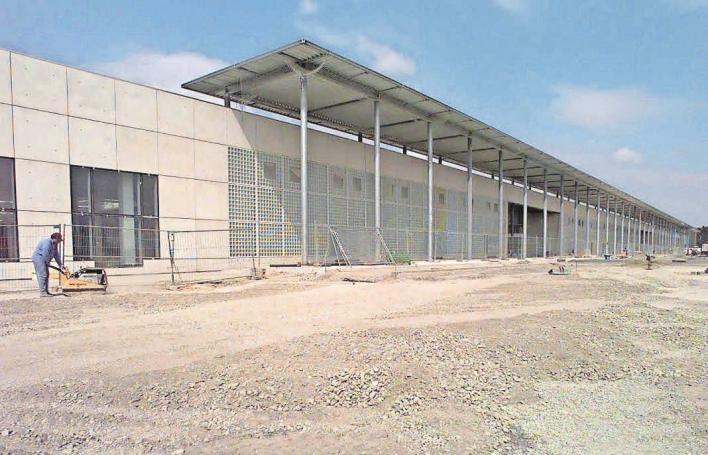 Die Bau- und Vermessungsarbeiten im Jahr 1998.