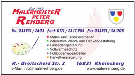 Malermeister Peter Rehberg