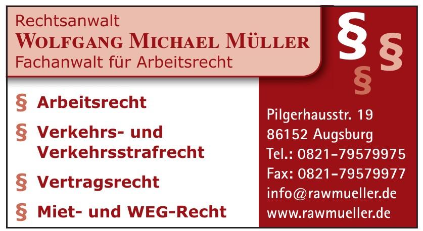 Wolfgang Michael Müller