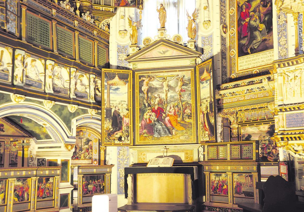 Die Celler Schlosskapelle kann nur durch Glas bestaunt werden, doch die Zwischenergebnisse der Machbarkeitsstudie sehen nun begrenzten Zutritt für einige Besuchsgruppen vor. Foto: Wasinski