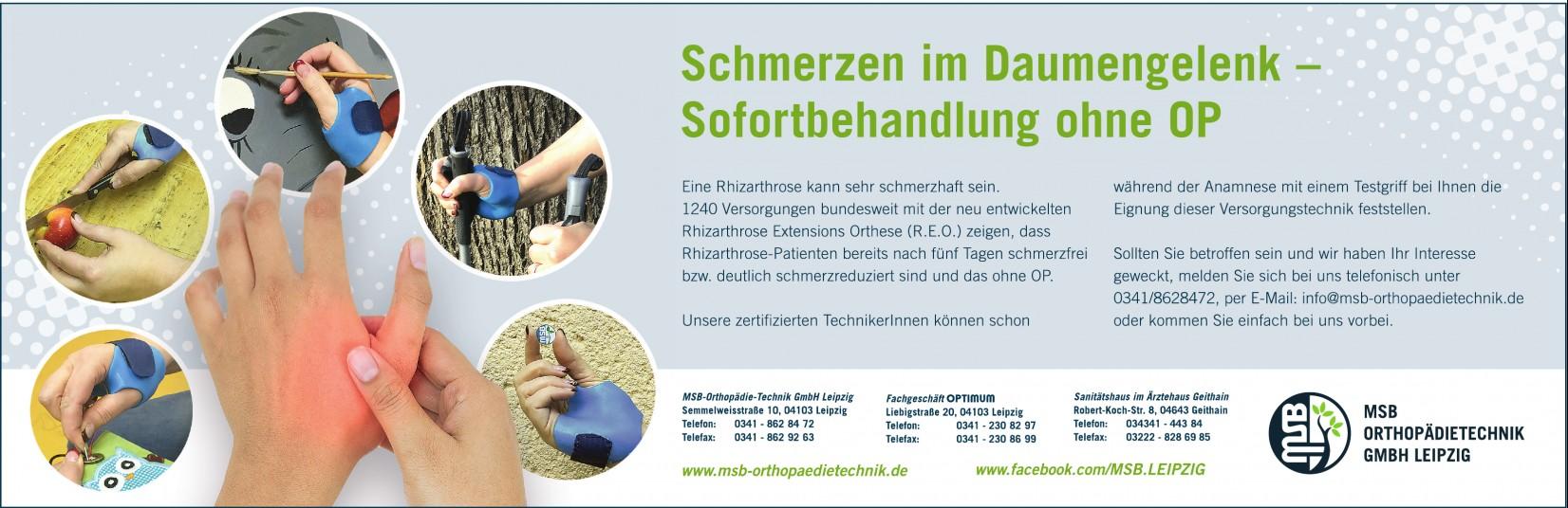 MSB-Orthopädie-Technik