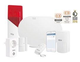 Die Smartvest Funk-Alarmanlage von Abus lässt sich einfach selbst installieren, einrichten und bedienen. Sie steht für zuverlässigen Rundum- Schutz gegen Einbruch und andere Gefahren des Alltags