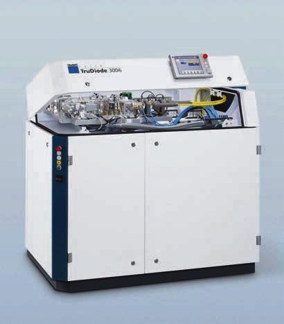 Lasersystem mit ausgehenden Lichtleitkabeln