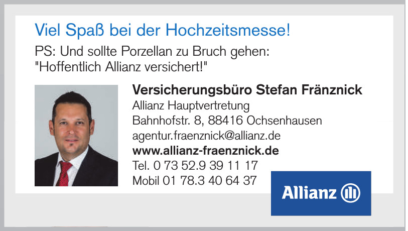 Versicherungsbüro Stefan Fränznick