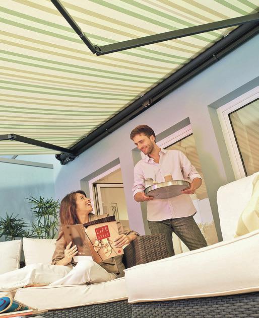 Terrassengröße, Ausrichtung und Ausstattung sollten zur geplanten Nutzung passen.Foto: djd/Lewens-Markisen