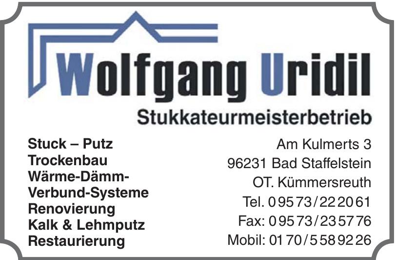 Wolfgang Uridil
