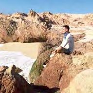 In der Wüste Mexikos genoss Dortmunds Julian Weigl den Blick von den Klippen auf das Meer.