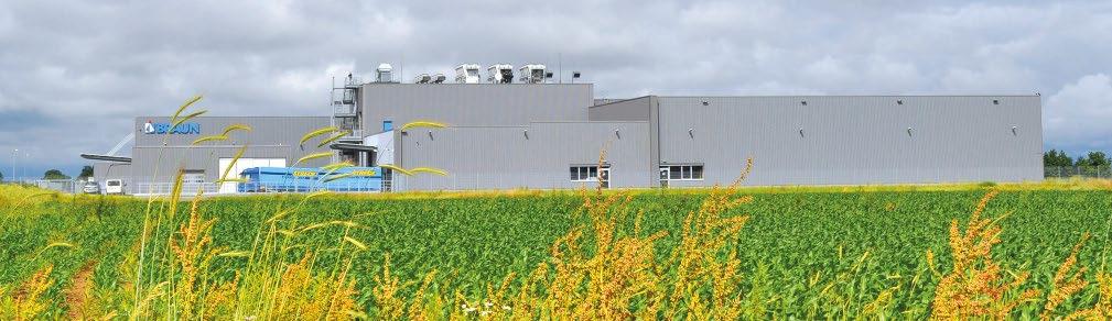 Abb. 1: Da die Produktionsgebäude am Hauptsitz in Bahlingen zu klein geworden waren, baute Braunform in der Nachbarstadt Endingen einen neuen Standort mit zwei Reinräumen für die Kunststoff- und Pharmaproduktion. © Braunform GmbH