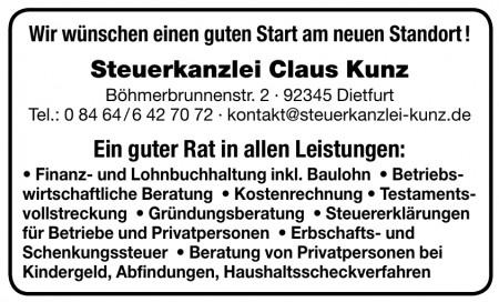 Steuerkanzlei Claus Kunz