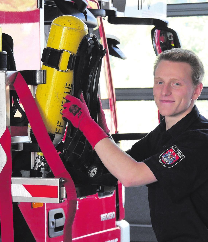 Seit 2017 bietet die Celler Feuerwehr ein Freiwilliges Soziales Jahr an. Foto: Florian Persuhn