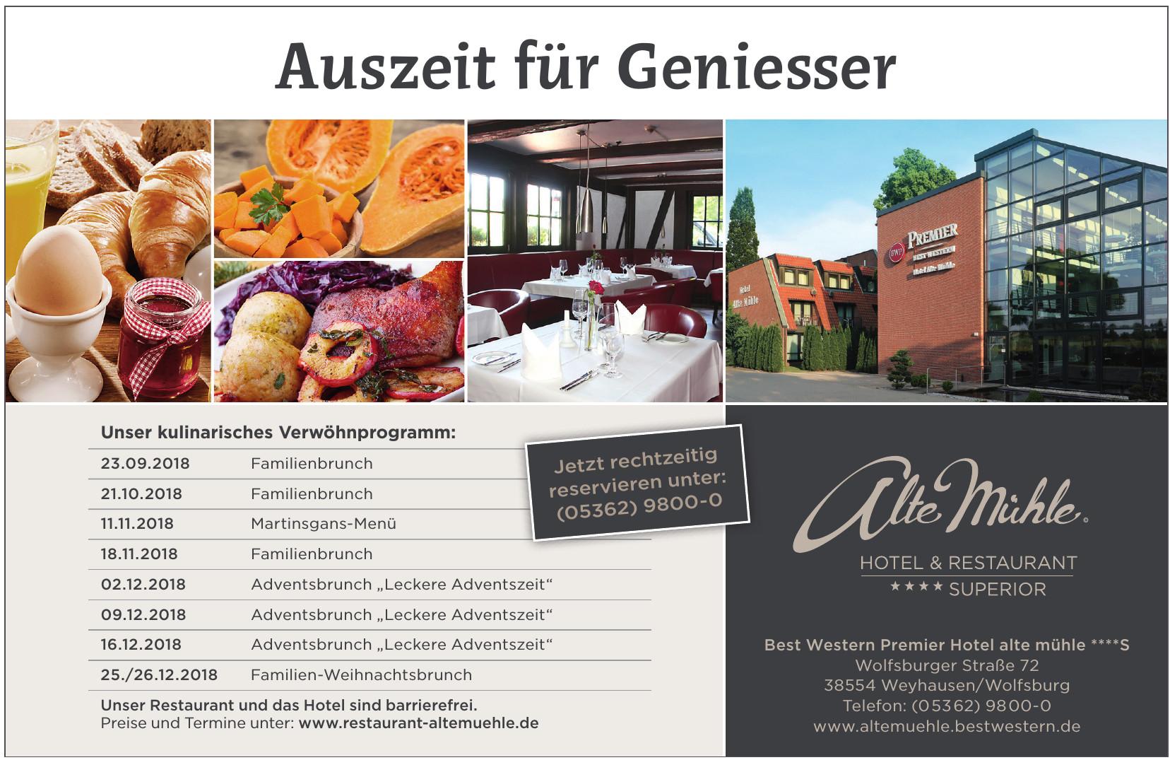 Best Western Premier Hotel alte mühle ****S