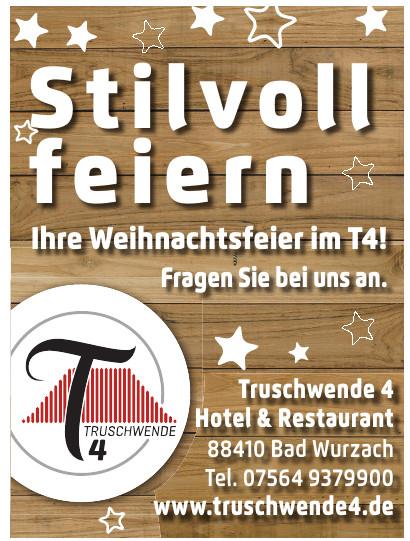 Truschwende 4 Hotel & Restaurant