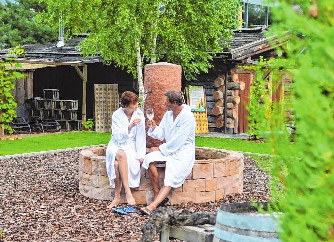Sauna im Sommer im monte mare Kaiserslautern: Frischekick bei Sommerhitze