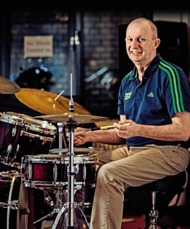 Früher Spitzenport, heute Musik: John Kunkeler betreibt einen Jazzclub
