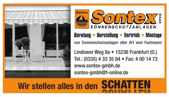 Sonnenschutzanlagen Sontex GmbH