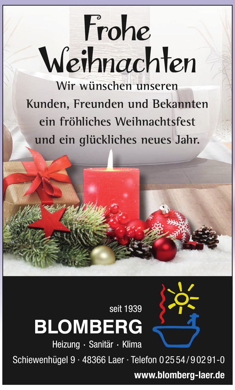 Blomberg Heiz- und Sanitärtechnik GmbH