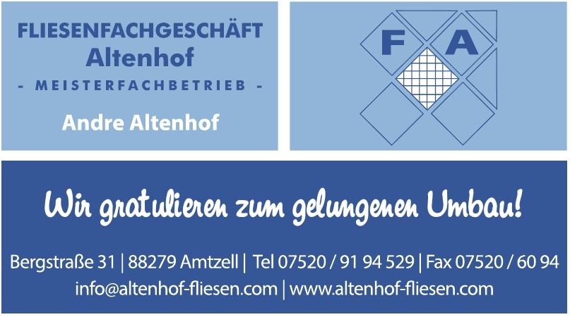 Altenhof Fliesenfachgeschäft
