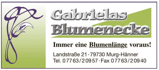 Gabrielas Blumenecke