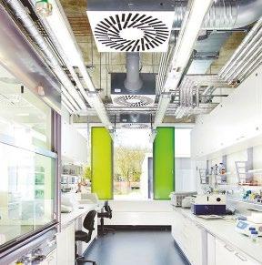 Neue Richtlinie VDI 2051: Raumlufttechnik in Laboratorien (Bild: Trox GmbH)