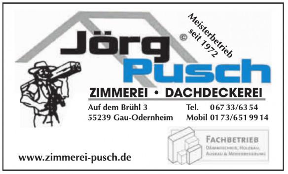 Jörg Pusch Zimmerein, Dachdekerei
