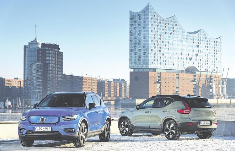 Volvos Stromer mit Positiver Öko-Bilanz