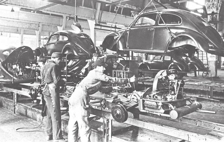 Ein historischer Tag für Volkswagen