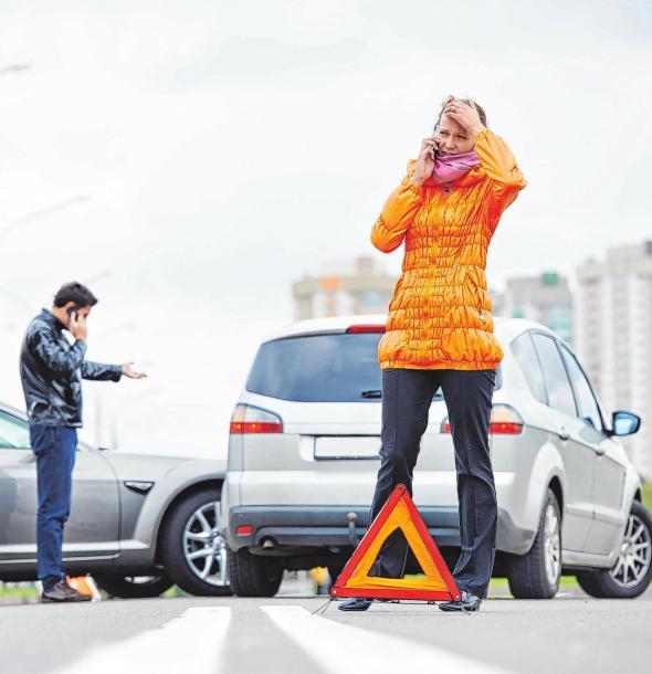 Schadensregulierung nach einem Unfall