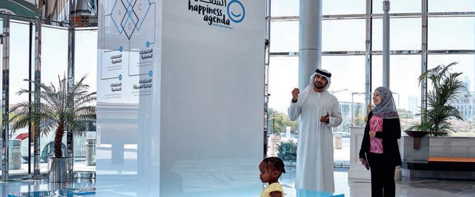 Ein vernetztes Dubai für ein glückliches, digitales Leben