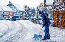 Gefahren durch Eis und Schnee